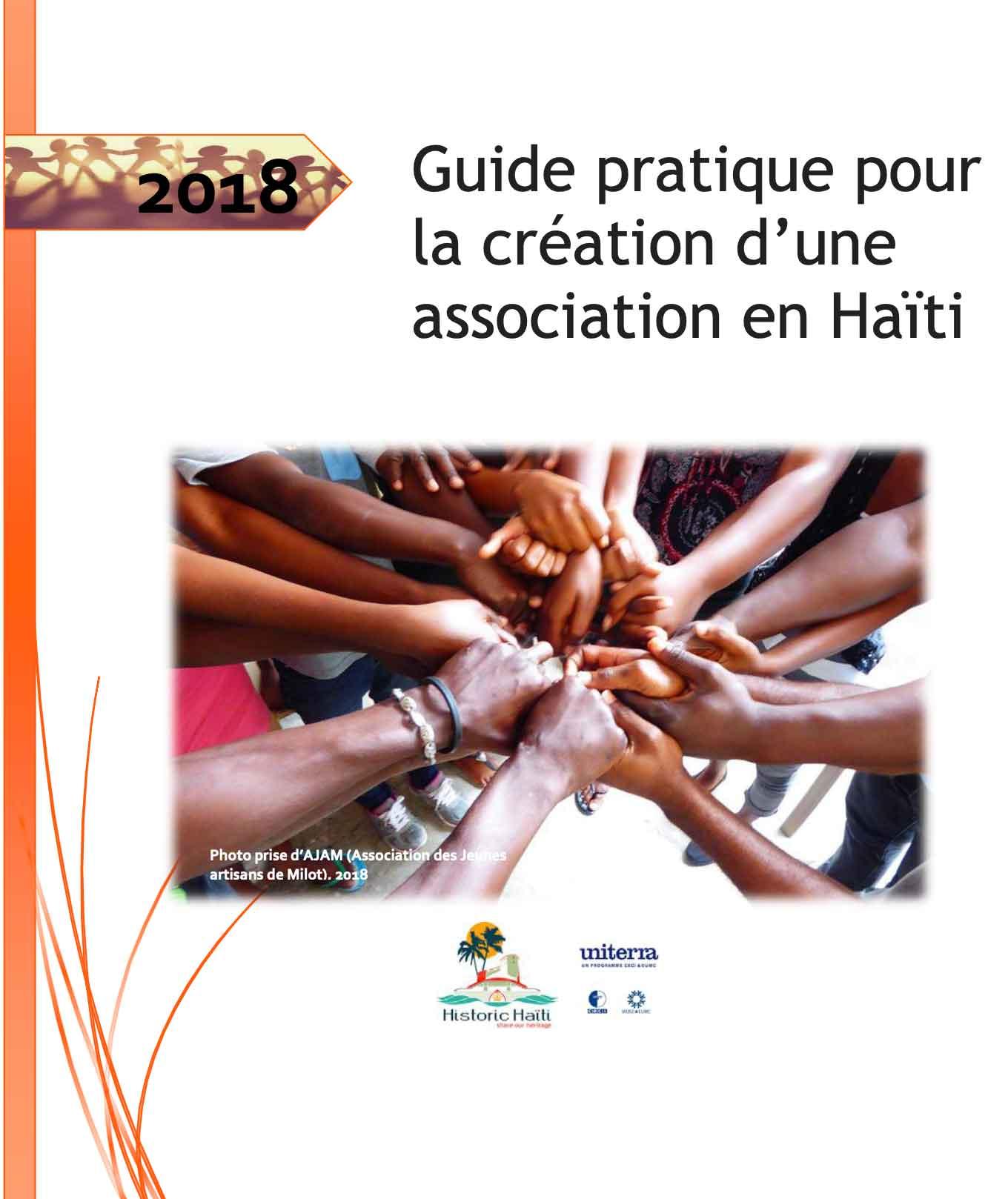 Cover - Guide de Création d_Association - Haiti